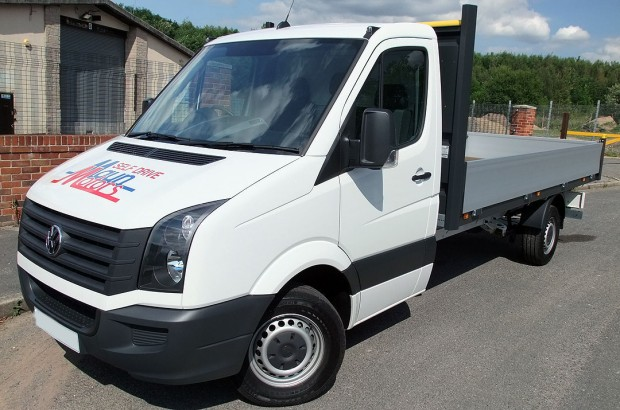 14 foot Dropside Rental VW Crafter 01