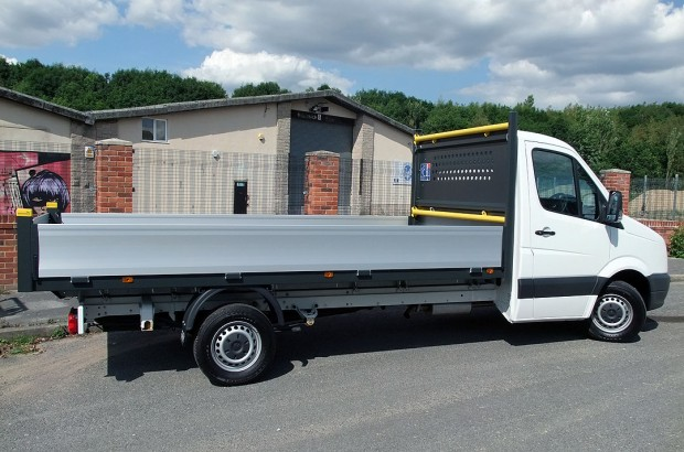 14 foot Dropside Rental VW Crafter 07