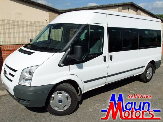 Ford Transit 15 seat Minibus Self Drive Hire - PSV Minibuses Available