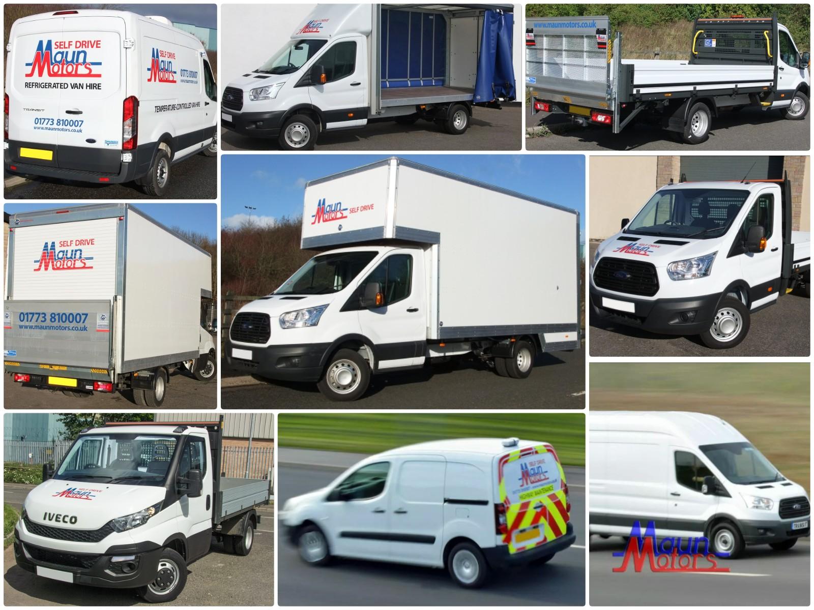Van hire near me, from Maun Motors Self Drive