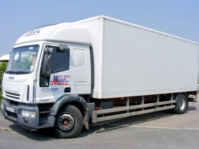 18 tonne Box Lorry Hire with Tail Lift. Self Drive truck rental.