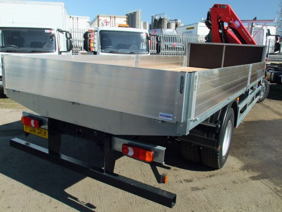 18 tonne Crane Lorry Front with Mount Loader 06