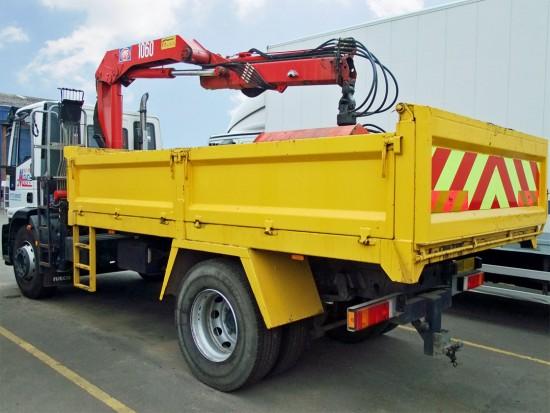 18 tonne Muckaway Tipper Grab