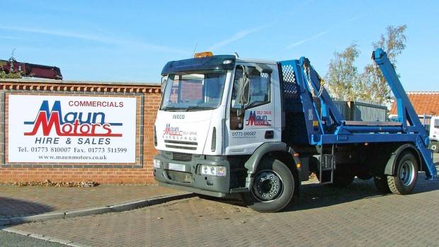 18 tonne Skip Wagon Lorry Rental 02