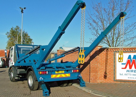 18 tonne Skip Wagon Lorry Rental 10