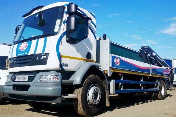 18t Crane Lorry Grab Rear Mount Rental 05