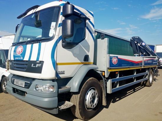 18t Crane Lorry Grab Rear Mount Rental 06