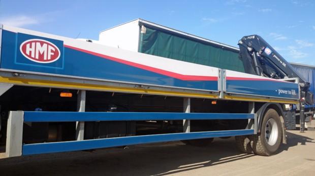 18t Crane Lorry Grab Rear Mount Rental 07
