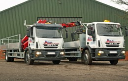 Hire Hiab Crane Lorries from Maun Motors - Self Drive Rental