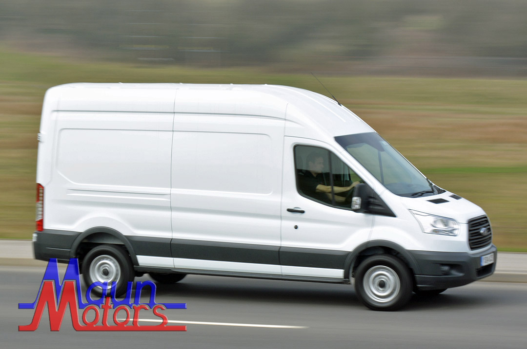 Van Hire - LWB Long Wheelbase, High Roof, Transit-type Panel Van