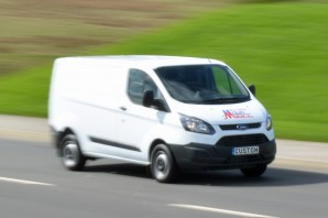 SWB van hire, short wheelbase Ford Transit sized van rental from Maun Motors