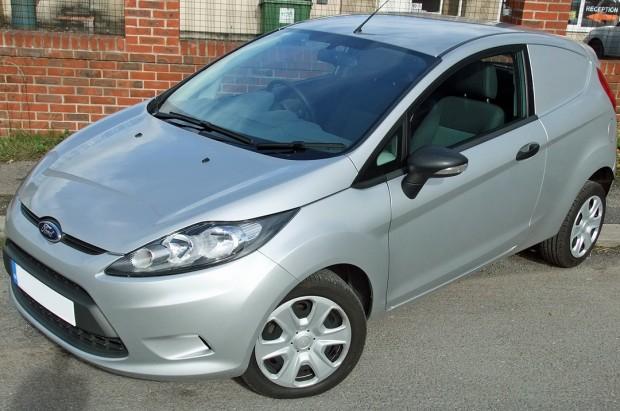 Ford Fiesta Car-Derived Van Rental 01