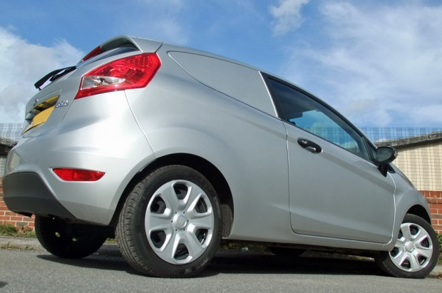 Ford Fiesta Car-Derived Van Rental 04