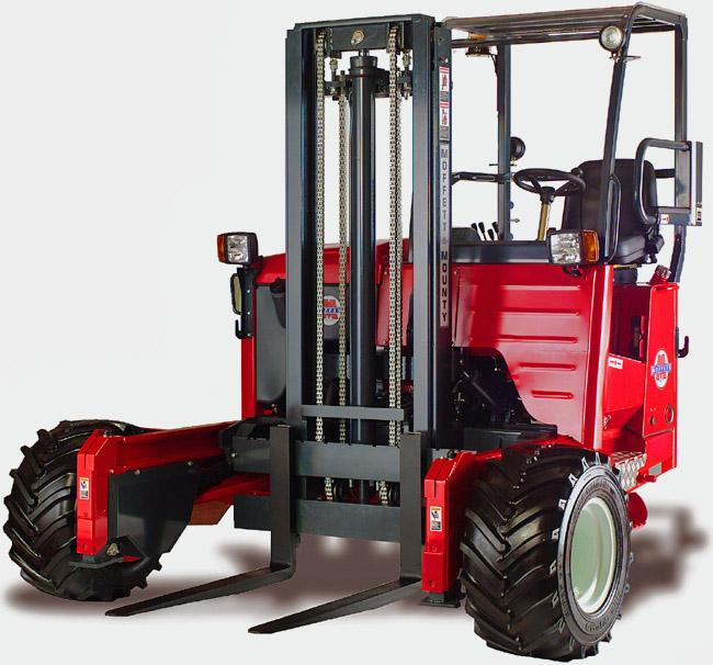 Fork Lift Truck - Moffett Mounty