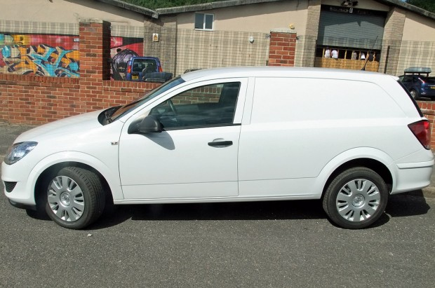 Vauxhall Astra Car-Derived Van Hire 02