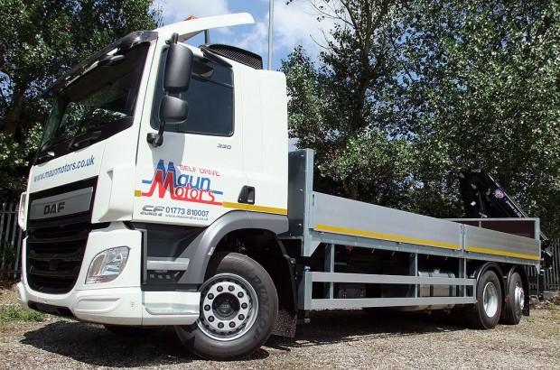 26 tonne Crane Lorry Rear Mount Rental 05