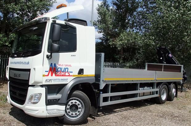 26 tonne Crane Lorry Rear Mount Rental 06