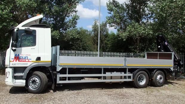 26 tonne Crane Lorry Rear Mount Rental 07