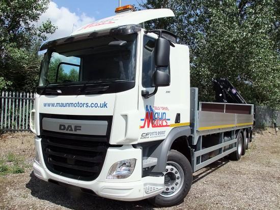 26 tonne Crane Lorry Rear Mount Rental 08