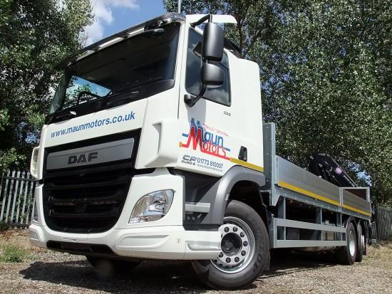 26 tonne Crane Lorry Rear Mount Rental 09