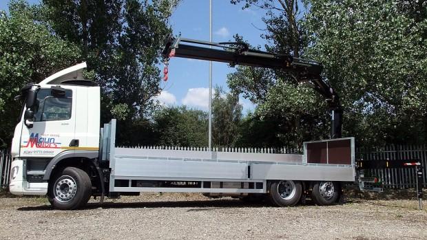 26 tonne Crane Lorry Rear Mount Rental 10