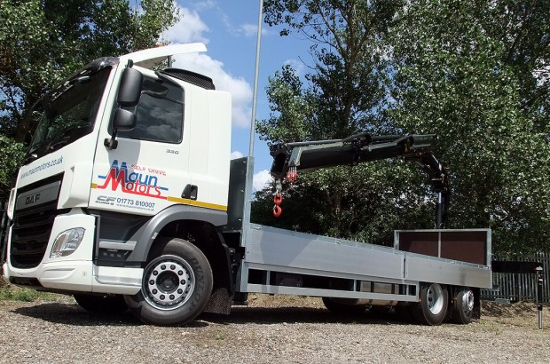26 tonne Crane Lorry Rear Mount Rental 11