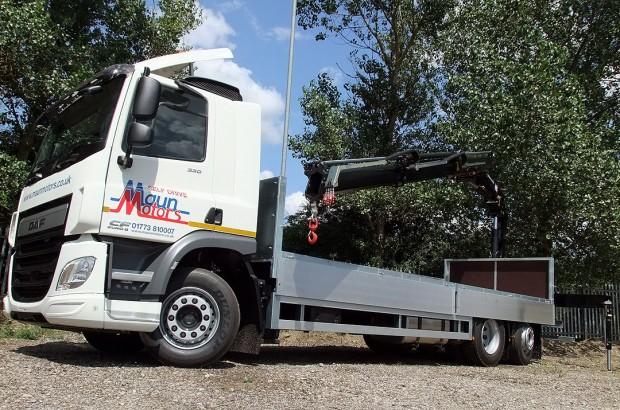 26 tonne Crane Lorry Rear Mount Rental 11