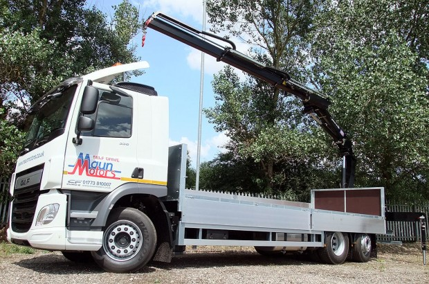 26 tonne Crane Lorry Rear Mount Rental 12