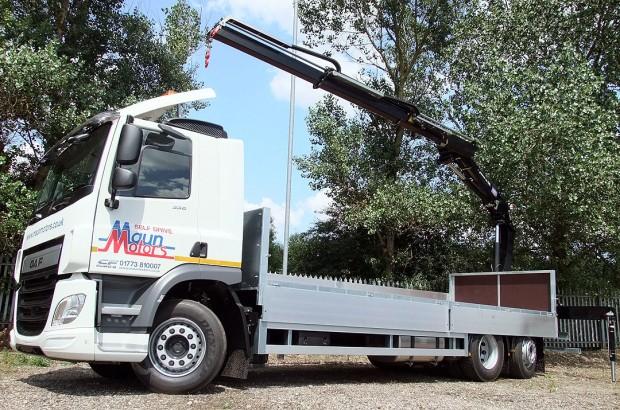 26 tonne Crane Lorry Rear Mount Rental 12