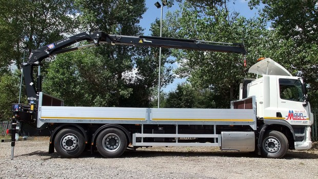 26 tonne Crane Lorry Rear Mount Rental 14
