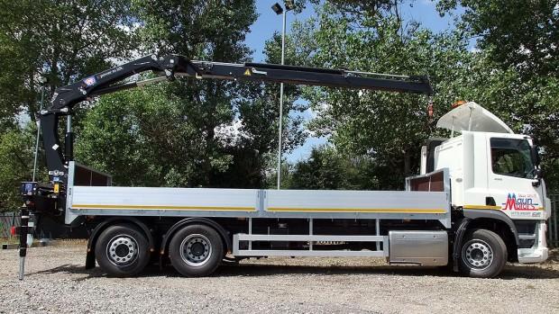 26 tonne Crane Lorry Rear Mount Rental 14