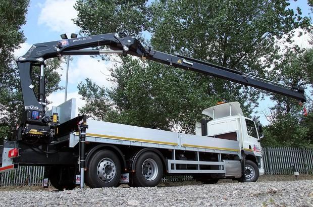 26 tonne Crane Lorry Rear Mount Rental 15