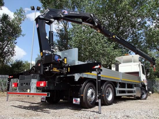 26 tonne Crane Lorry Rear Mount Rental 16