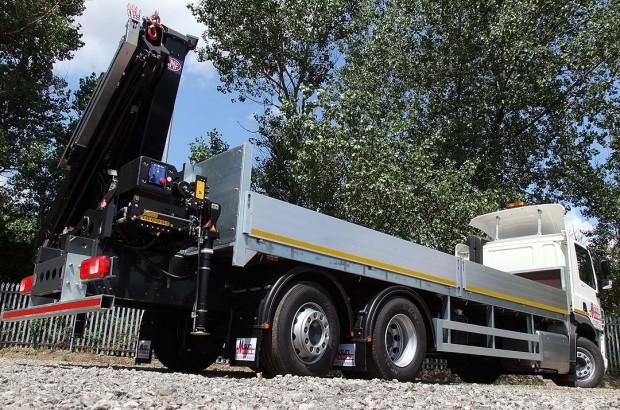 26 tonne Crane Lorry Rear Mount Rental 17