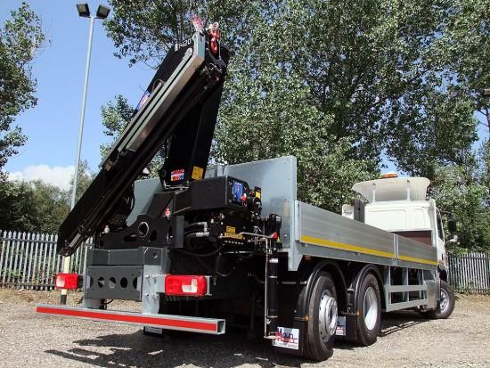 26 tonne Crane Lorry Rear Mount Rental 18