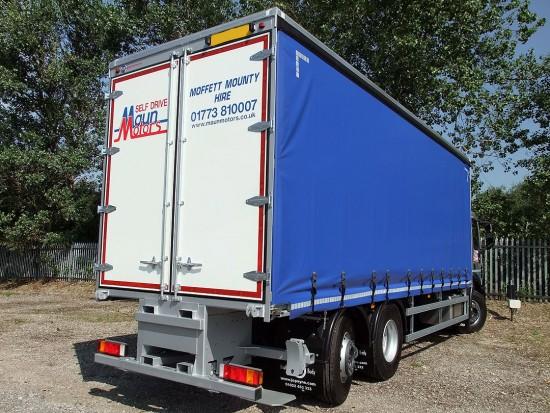 26 tonne Moffett Curtain Side Day Cab Rental 08