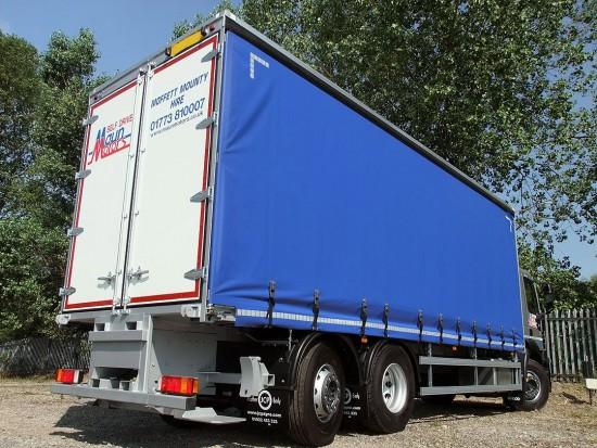 Tautliner 26 tonne Moffett Curtain Side Day Cab Rental 10