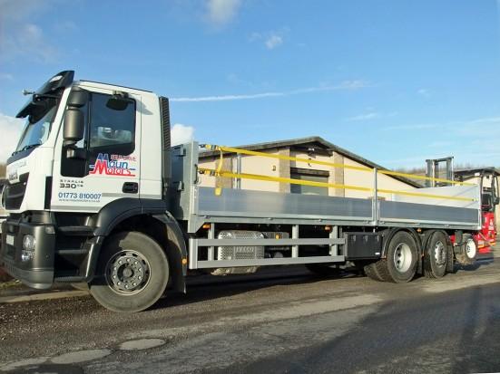 26 tonne Moffett Dropside Day Cab Rental 01