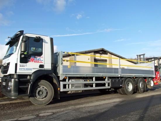 26 tonne Moffett Dropside Day Cab Rental 02