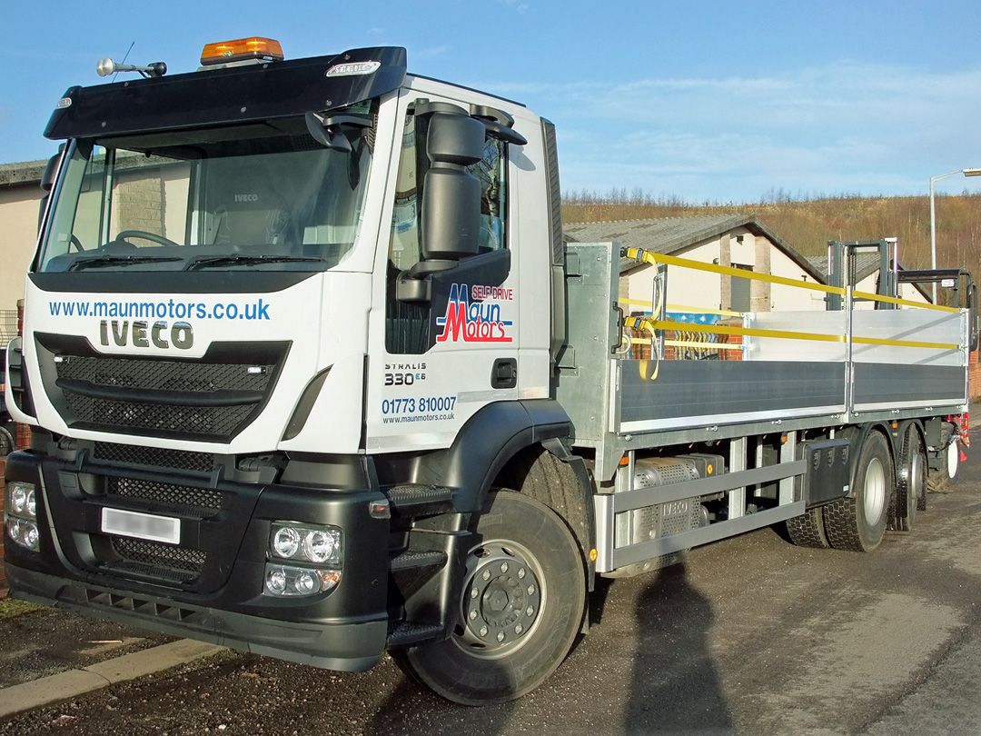 CLOCS, FORS and Crossrail Compliant lorry hire for use within London, from Maun Motors Self Drive