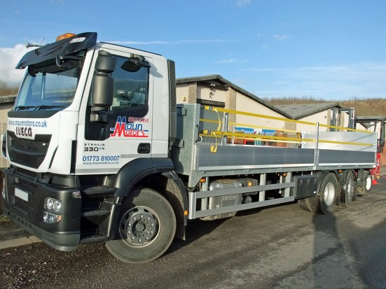 26 tonne Moffett Dropside Day Cab Rental 05
