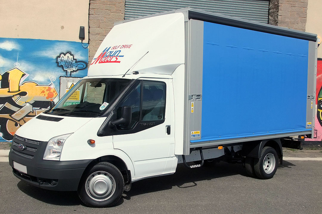 Maun Motors Self Drive | Curtain Side Van Hire 3.5t Rental   3.5 Tonne  Tautliner Curtainsider Hire
