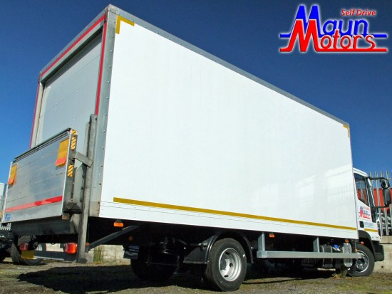 7-5 tonne Box Van with Tail Lift Hire