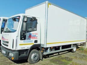 7.5 tonne box van hire without Tail Lift Rental - 7.5t box van hire - box lorry hire - 7.5t lorry hire
