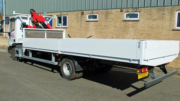 7-5 tonne Crane Lorry Hire Front Mount Loader Rental 04