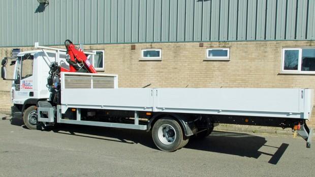 7-5 tonne Crane Lorry Hire Front Mount Loader Rental 05