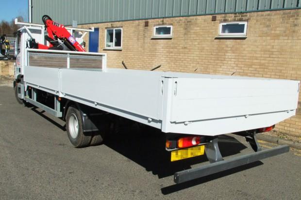 7-5 tonne Crane Lorry Hire Front Mount Loader Rental 06
