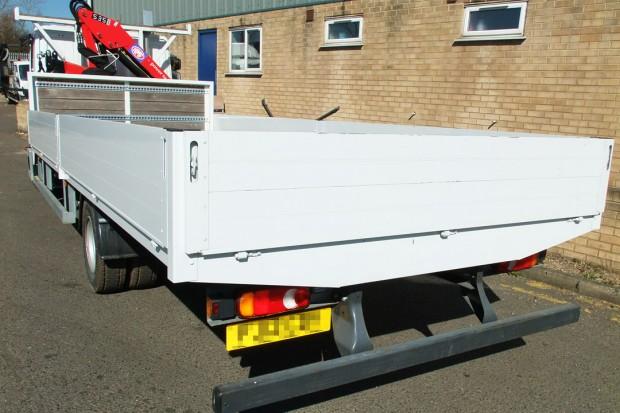 7-5 tonne Crane Lorry Hire Front Mount Loader Rental 07