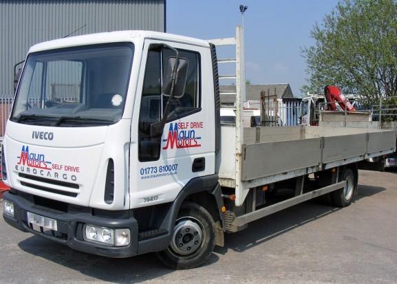 7-5 tonne Dropside Lorry Truck Rental 02