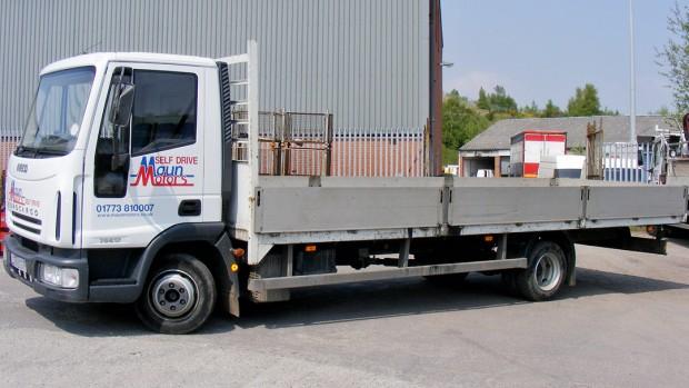7-5 tonne Dropside Lorry Truck Rental 03